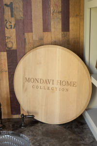 Mondavi Wine Barrel