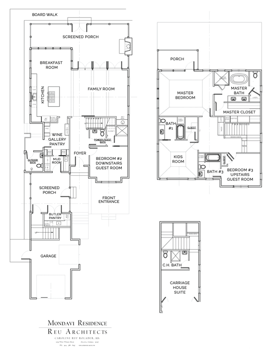 Mondavi Home Floor Plan
