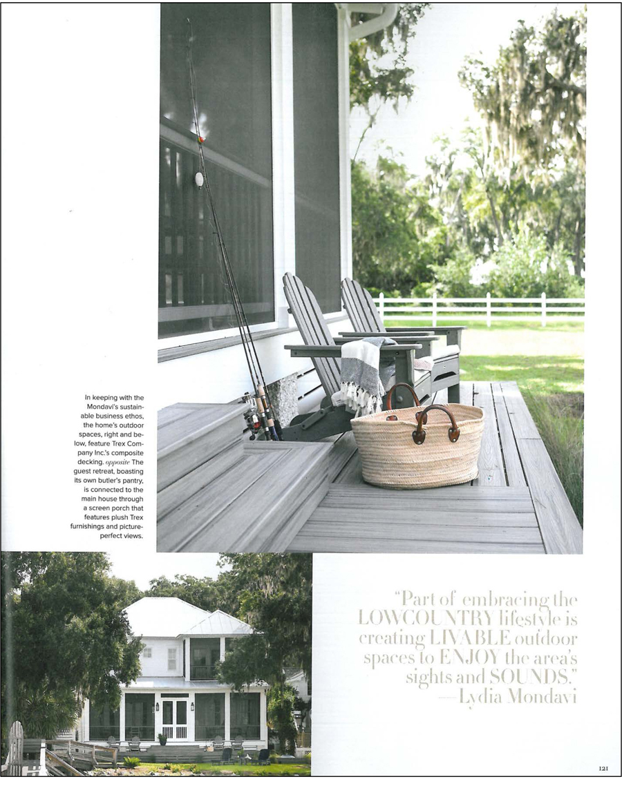 Atlanta Homes & Lifestyles Magazine - Mondavi Home Collection