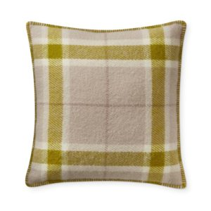 Garmay Italian Lambswool Pillow Cover, Green