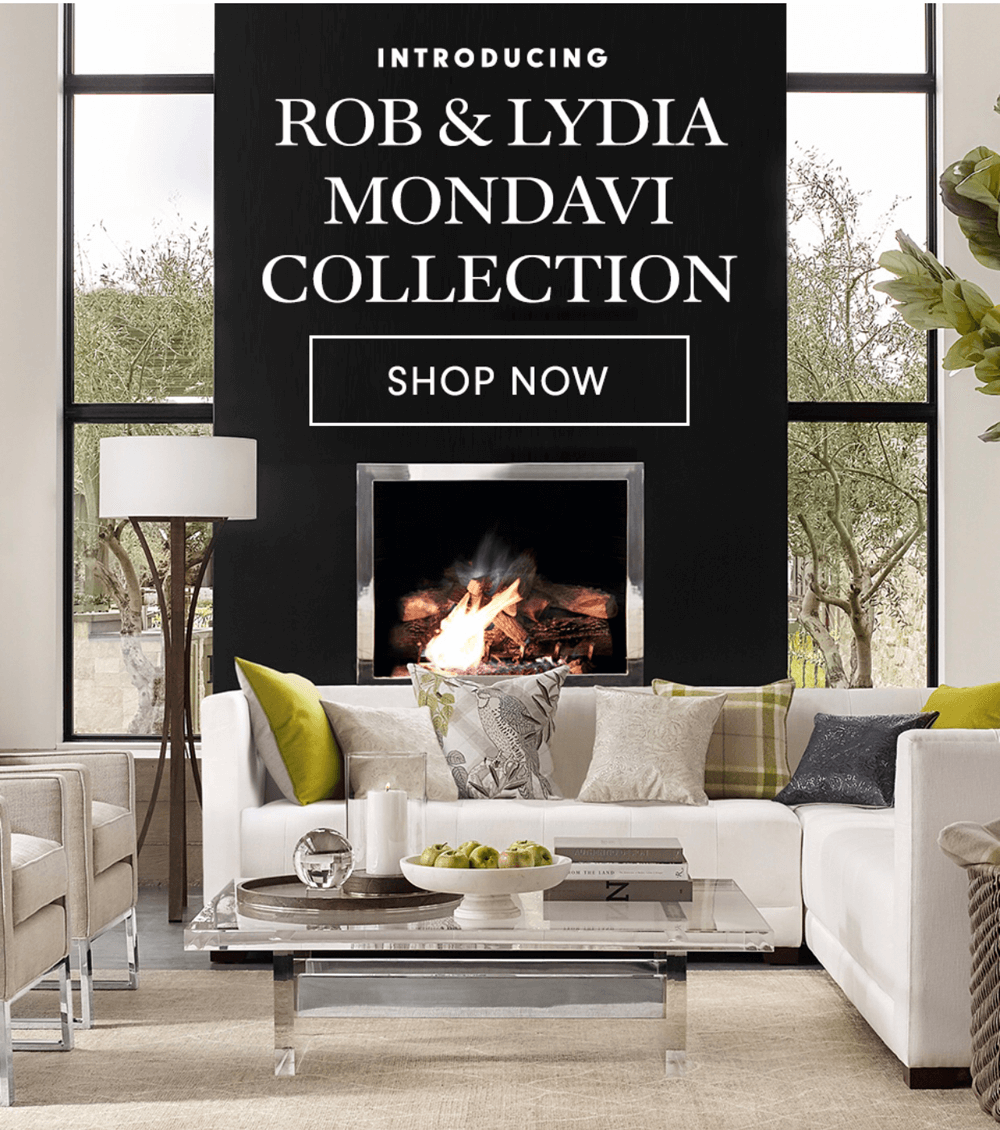Rob And Lydia Mondavi S Collection With Williams Sonoma Home Reflects Their Pion In The Art Of Living Well