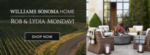 Rob and Lydia Mondavi Home Collection